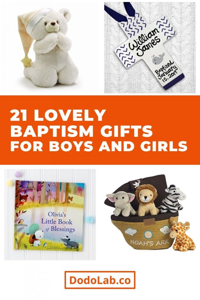 21 Lovely Baptism Gifts For Boys And Girls