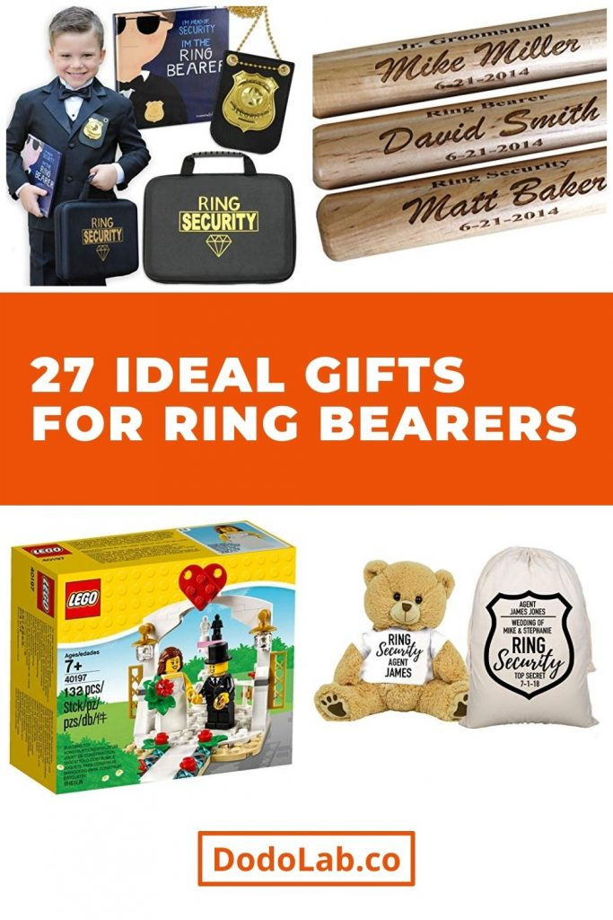 27 Ideal Gifts for Ring Bearers