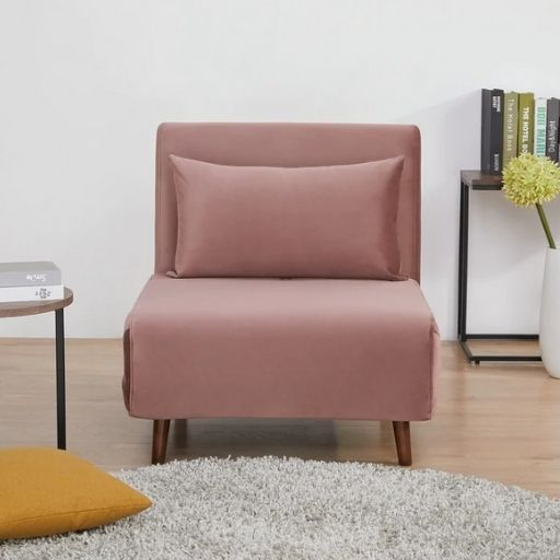 Tustin Upholstered Convertible Sleeper Chair